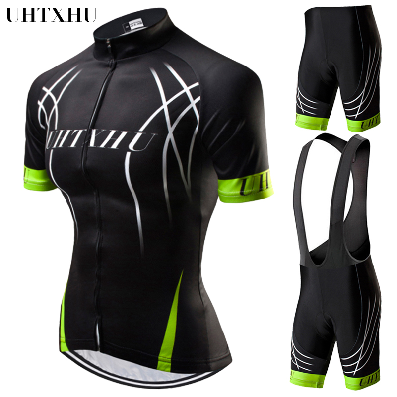 Uhtxhu Women Cycling Set Summer Mountain Bike Clothing MTB Bicycle Wear Clothes Maillot Ropa Ciclismo Cycling Jersey SetsUhtxhu Women Cycling Set Summer Mountain Bike Clothing MTB Bicycle Wear Clothes Maillot Ropa Ciclismo Cycling Jersey Sets