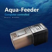 Automatic Fish Feeder Fish Tank Aquarium Fish Food Automatic LCD Display Timer Feeding Dispenser Adjustable Auto Feeder