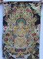 36-дюймовый тибетский буддизм  шелковая вышивка сиденья  Maitreya Будда  живопись танка  Фотообои