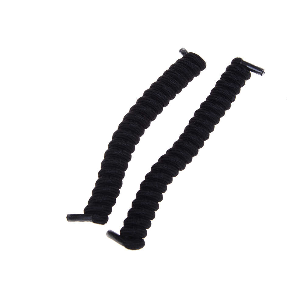 10 สี Shoelaces ยืดหยุ่นไม่มี Tie เทรนเนอร์เด็กรองเท้า Laces สีสำหรับ Childs และผู้ใหญ่ที่ดีที่สุดกีฬาแบนเชือกผูกรองเท้า