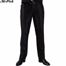 (Single Pant) High Quality Men Suit Pant 2017 New Arrival Slim Fit Fashion Brand Business Dress Wedding Trousers J1004
