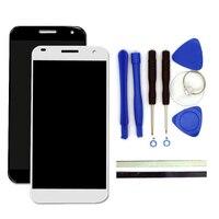Для Huawei Ascend G7 ЖК-дисплей Дисплей + дигитайзер Сенсорный экран Стекло Замена сотовый телефон Запчасти Бесплатная Инструменты