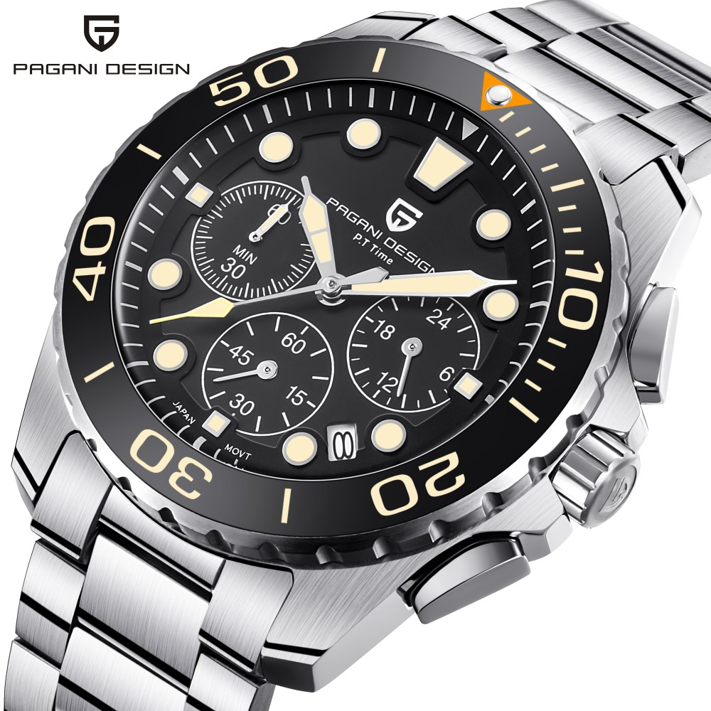 все цены на 2018 New Mens Watches Top Brand PAGANI DESIGN Luxury Waterproof Sport Military Quartz Watch Men Clock Relogio Masculino Saat