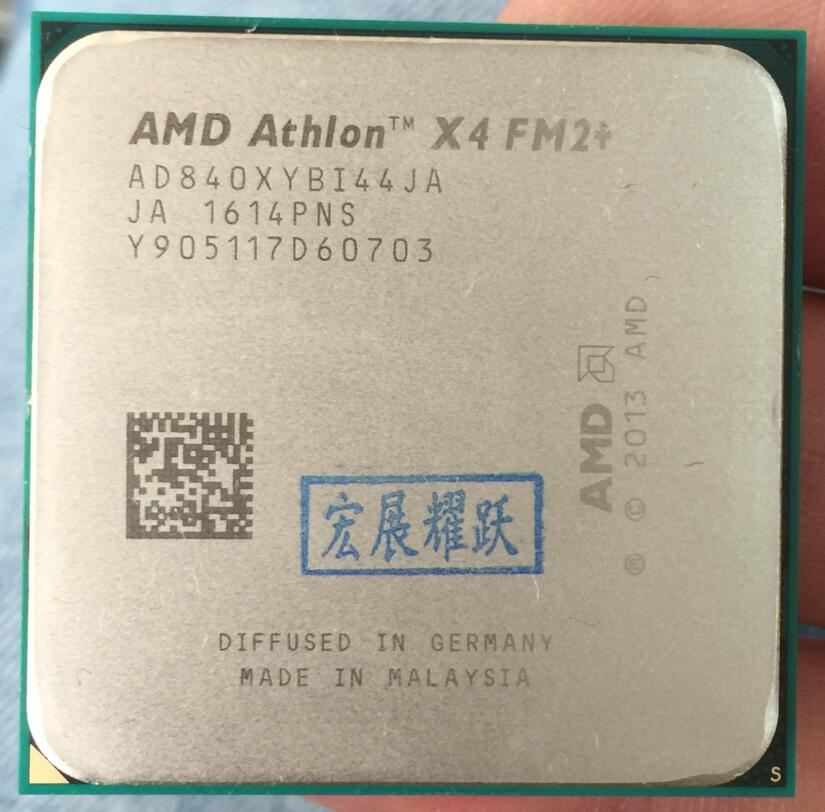 AMD Athlon X4 840 X840 FM2+ Quad-Core CPU 100% working properly Desktop Processor цена и фото