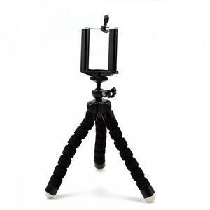 Image 5 - GoPro 용 SnowHu Go Pro Hero 용 스크류 마운트 어댑터가있는 유연한 미니 OctopusTripod 9 8 7 6 5 yi 4k SJCAM 카메라 LD06 용