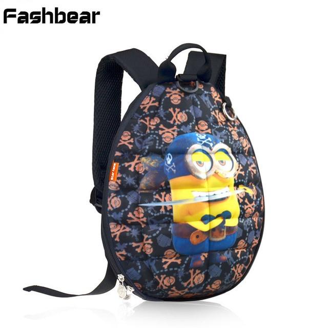 d05b5e1788f1a 2017 mode Cartoon Schultaschen Für Jungen Bombe Schildkröte Shell Kinder  Rucksack Pu-leder Kindergarten Taschen