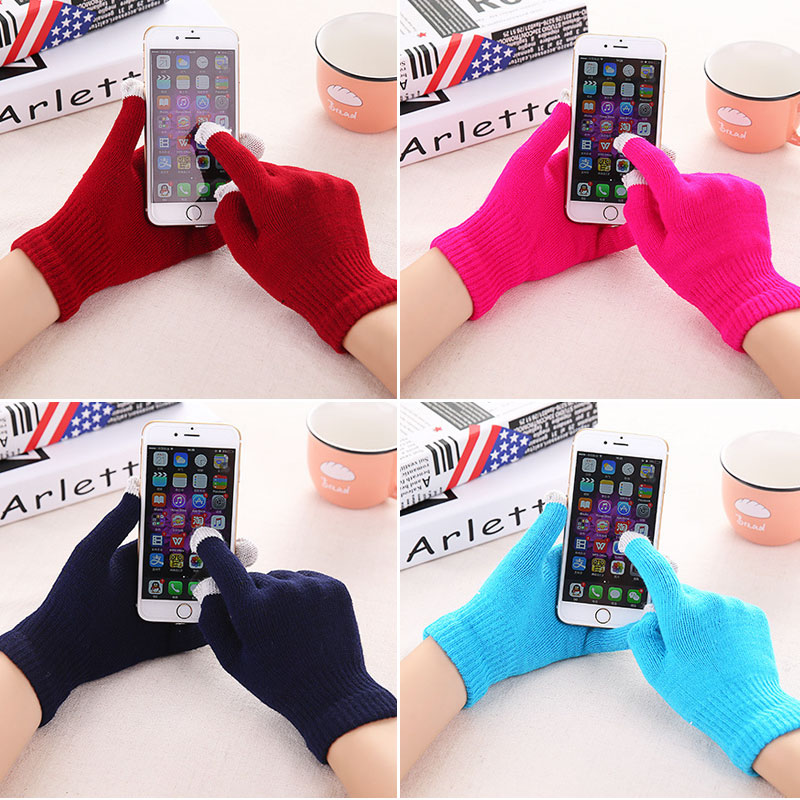 Touch Screen Gloves for Phone Touched Screen Texting Capacitive Smartphone Touch Unisex Gloves for Meizu Xiaomi Smartphone