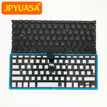Hungarian Keyboard A1466 Macbook Backlit New with for Air 13-10pcs A1369