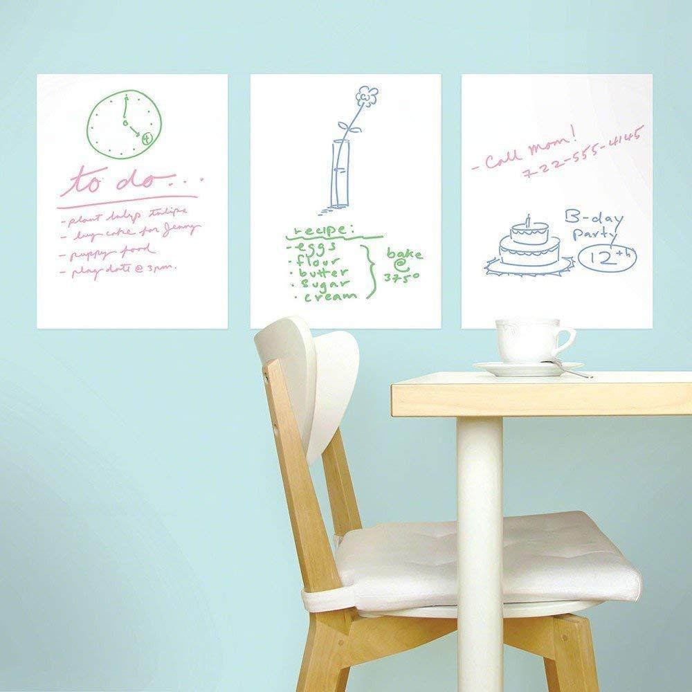 100cm 300cm Whiteboard Board Writing Film Self Adhesive White Board Stickr School Home Office Useful