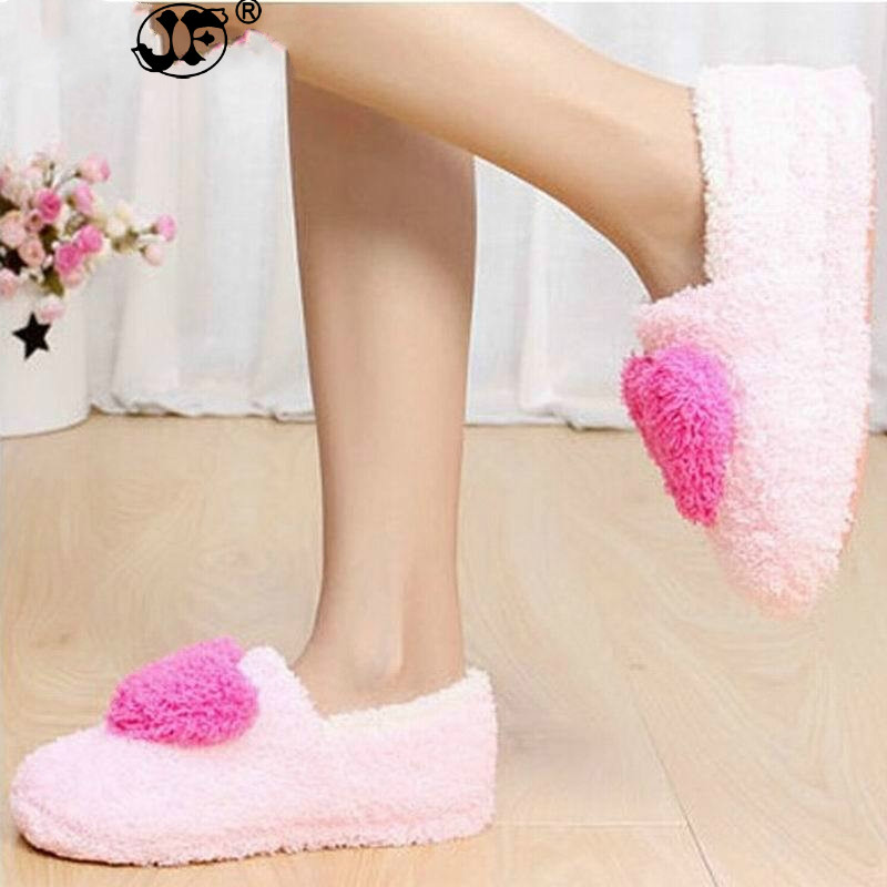 Lovely Ladies Home Floor Soft Women indoor Slippers Outsole Cotton-Padded Shoes Female Cashmere Warm Casual Shoes thj89Lovely Ladies Home Floor Soft Women indoor Slippers Outsole Cotton-Padded Shoes Female Cashmere Warm Casual Shoes thj89