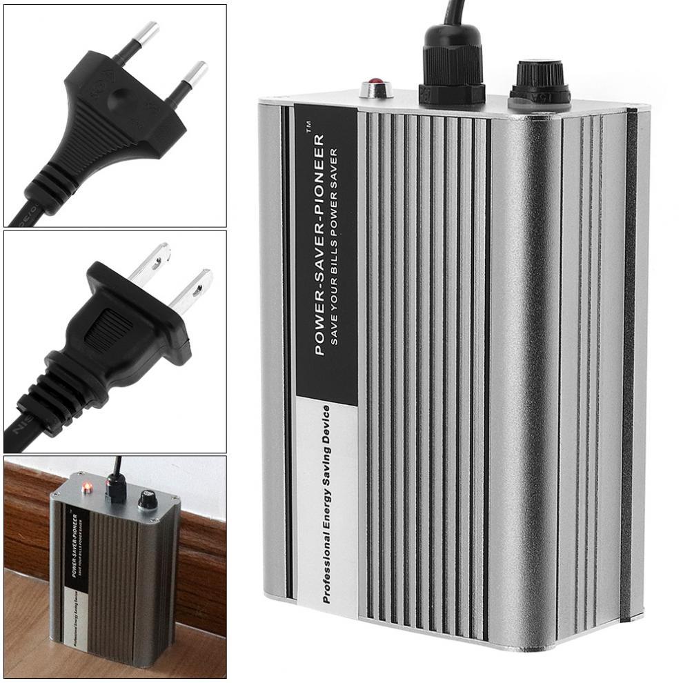 50KW 90-250V 50HZ/60HZ Home Room Electricity Saving Box Electricity Bill Killer Up to 35% US / EU Plug Optional экономитель электроэнергии electricity saving box