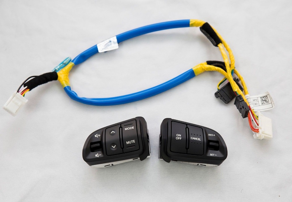 us $45 0 for genuine multi function steering wheel audio cruise control buttons with wire harness for kia sportage auto cruise control in steering Hummer H2 Wiring Harness