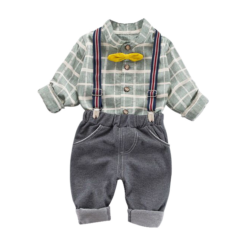 Male baby spring and autumn suit 2019