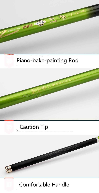 Leve Ultra Duro Mão Rod Realizada Telescópica
