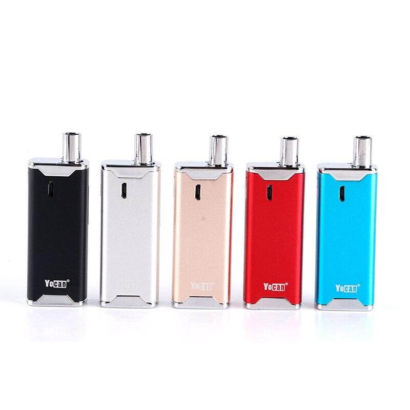 100% Originale Yocan Alveare 2.0 VV AIO Kit 650 mAh Batteria semplice E Cigarett Regolabile Sigaretta Elettronica Tensione Alveare 2 AIO Kit