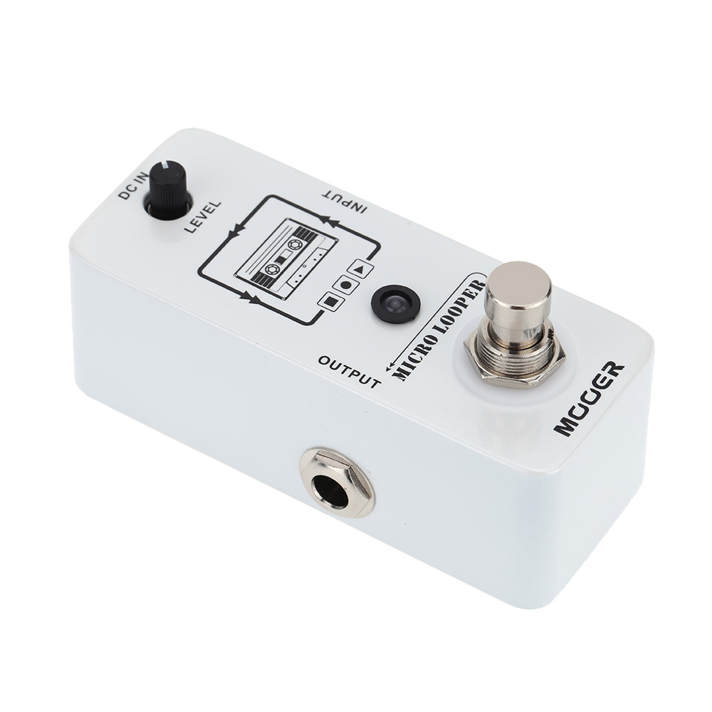 Mooer Micro looper Mini Loop recording Effect Pedal for Electric Guitar True Bypass High Quality Guitar