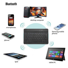 Wireless Bluetooth Keyboard For IOS Android Windows PC Ipad Tablet PC Latest Mobile Phone Bluetooth 3.0 Computer Peripherals(China)