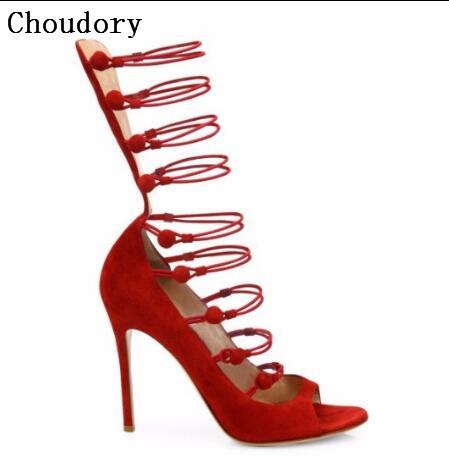 Fashion Women Cut Out Sandals Sexy High Heels Pumps Ladies Fashion Dress Wedding Shoes