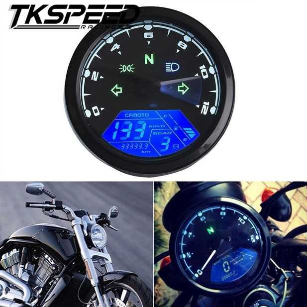 Detail Feedback Questions about Universal Motorcycle LCD