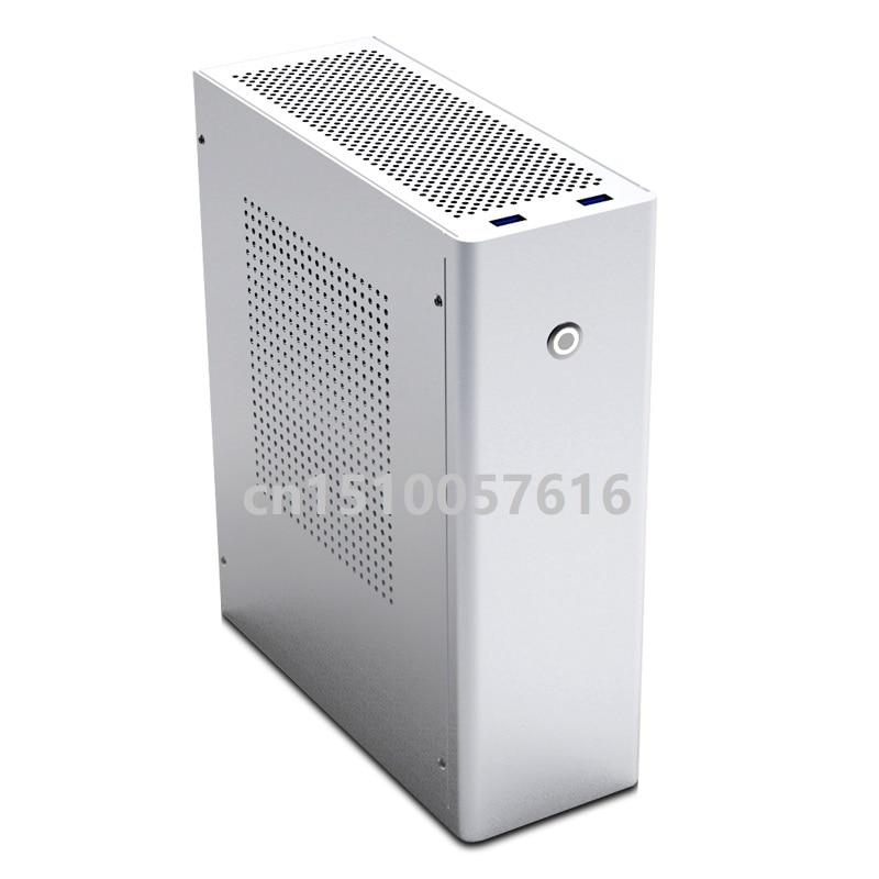 Aluminum Computer Case  Desktop MicroATX Computer Games ITX  HTPC Chassis  M1