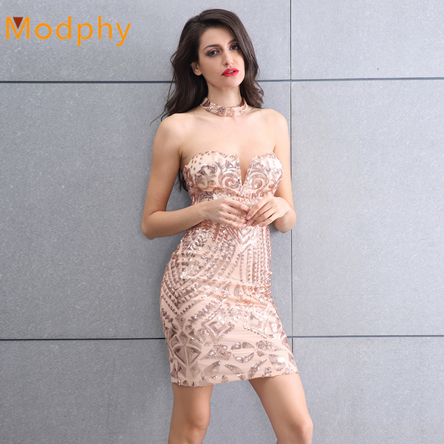 Busty Strapless Dresses