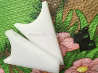 2 Sets White Color Ink Fountain End Plates For Heidelberg Gto 52 Heidelberg Printing Machinery Parts