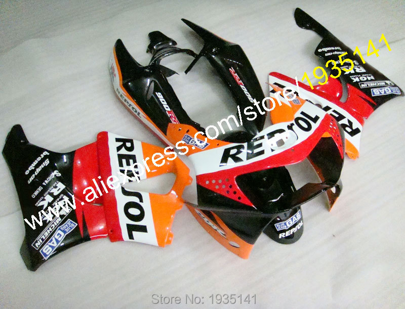 Hot Sales,For Honda CBR900RR 919 1998-1999 ABS Body Kit CBR 900 RR 98-99 CBR919 Repsol Aftermarket Sports Motorbike Fairing Set