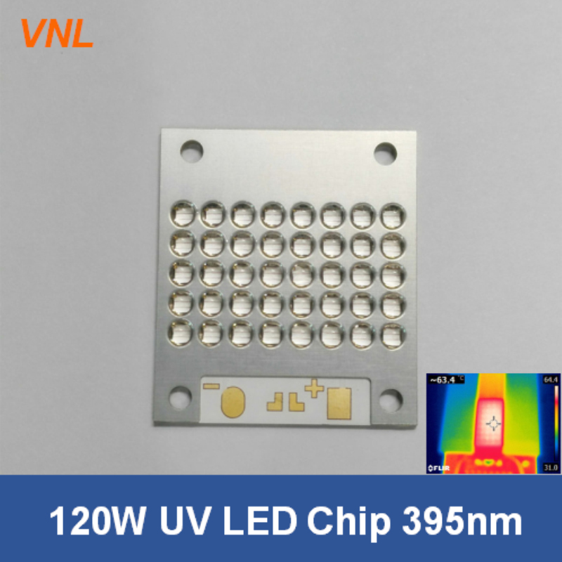 VNL 120W Led UV with LG Chip 365nm 385nm 395nm 405nm UV module for UV Ink jet printer screen printing with Quartz len 4mm 3mm uv printer tube uv ink tube printer uv tube for epson stylus pro 4800 4880 7800 9800 uv printer 50m