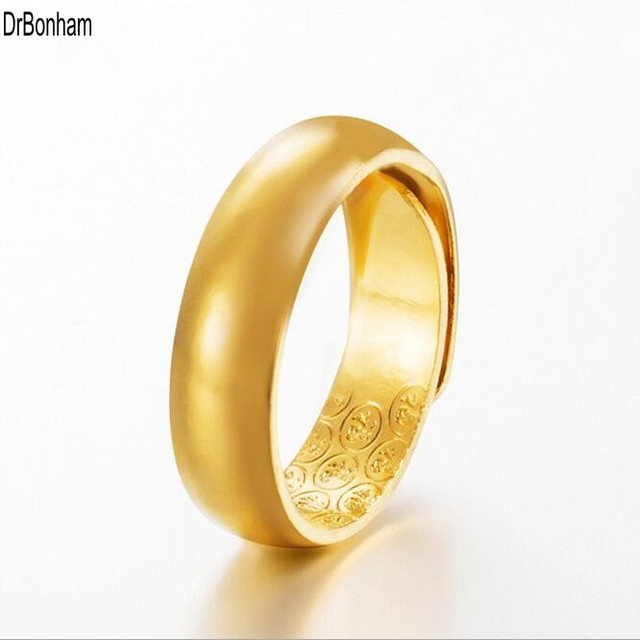 1pc Whole Fashion Dubai Gold Ring Jewelry Color New Ethiopian Wedding Alliance