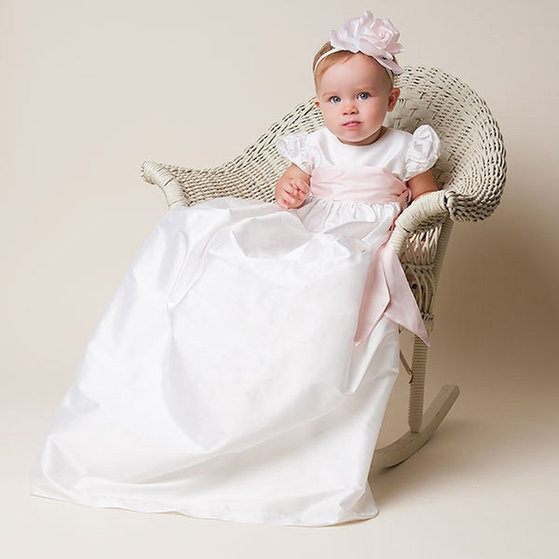 Baby Girls Baptism Gown (2)