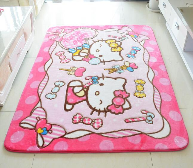 House Decorative Rug Baby Room Mat 130 185cm Hello Kitty Large Carpet Party C Fleece Rugs In From Home Garden On Aliexpress Alibaba Group