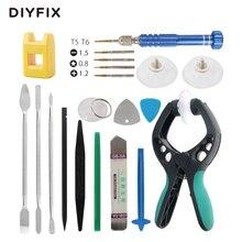DIYFIX 20 en 1 Kit de Herramientas de Reparación Del Teléfono Desmonte Spudger Pry apertura de Herramienta del Destornillador Fijó para el iphone 5 5S 6 6 s Tablet PC