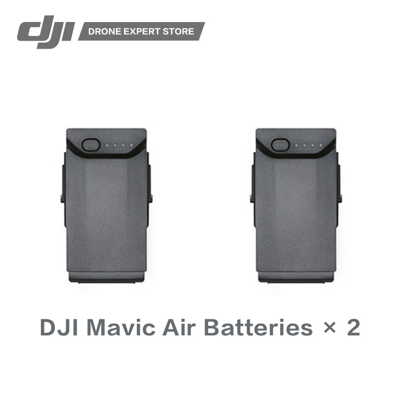 2 pcs/ensemble DJI D'origine Mavic Air Intelligente Vol Batterie Haute-Densité Au Lithium Batteries Offrant Temps de Vol de jusqu'à 21 min
