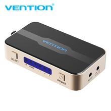 Vention HDMI Splitter 3 Вход 1 Выход 4 К 3 Порты и разъёмы HDMI коммутатор Swtich HDMI с toslink аудио 3D 2160 P для Xbox 360 PS4 Smart HD