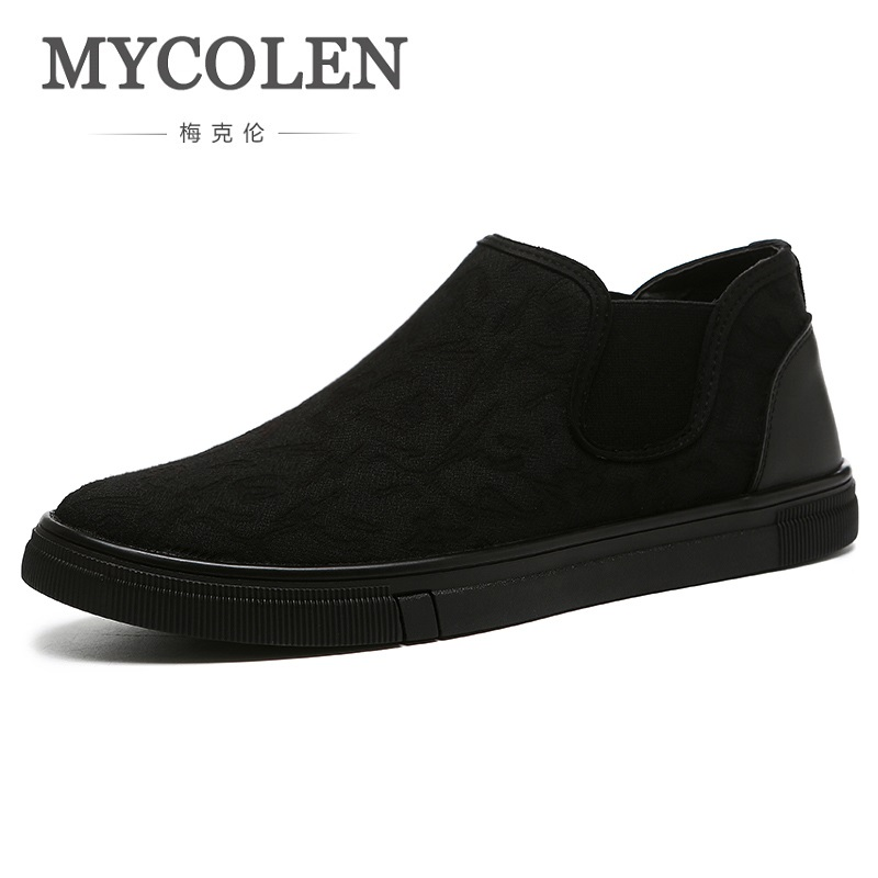 MYCOLEN Spring Autumn New Casual Shoes Men High-Quality Fashion British Style Breathable Loafer Men Shoes Erkek Ayakkabi 2017 spring autumn breathable white wild men casual shoes 100% handmade pigskin leather comfort men shoes high quality size40 44
