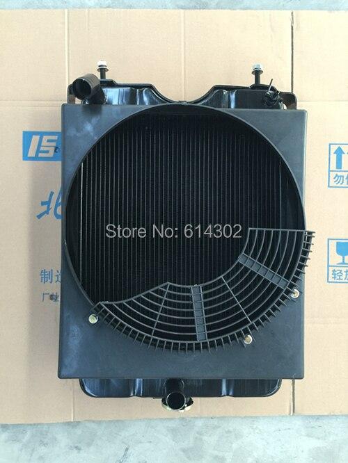 Радиатор для weifang 495D 495ZD K4100D K4100ZD части дизельного двигателя/weichai Ricardo 8 кВт-40 кВт запчасти дизельного генератора