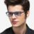 2016 Novo AÇO CARBONO TUNGSTÊNIO Óculos de Computador Óculos Anti-Fadiga resistentes à Radiação óculos de Armação oculos de grau RE13025