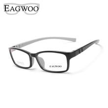 Eyeglasses EAGWOO Spectacle Optical-Frame Clear Silicon Boy Girl Children Plain Soft