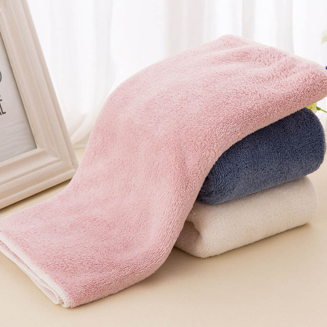 Super Soft Microfiber Towel Set Face Towel Shower Bath Towels Hand Towel Plain For Adults Kids 3 Sizes serviette toalla Handtuch