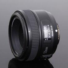 Yongnuo yn50mm de gran apertura f1.8 lente para nikon dslr de enfoque automático, 50mm f1.8 lente
