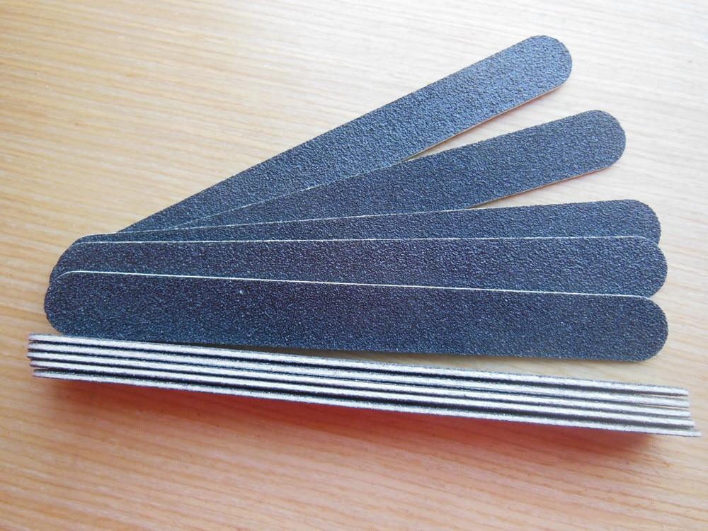 10 unids/lote tablero de esmeril 80/80 gruesa Lima manicura ...