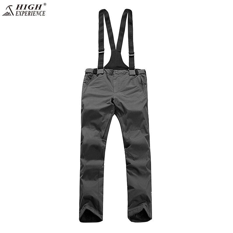 2018 NEW High Experience MEN Snow Pants waterproof Ski Trousers Winter Ski trousers Male Snow Pants парка high experience это
