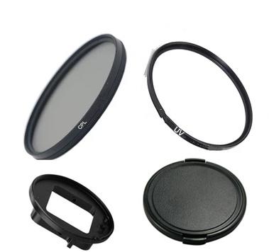 58mm Round Circle UV Lens Filter for GoPro HERO5 Session //HERO4 Session//Hero Session,with Cap Including Camera Accessories