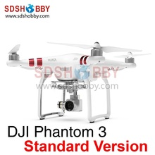 DJI Phantom 3 Four-axle Flyer Standard Version P3S Ready-to-fly Quadcopter Drone with 2.7K HD Camera Single Battery
