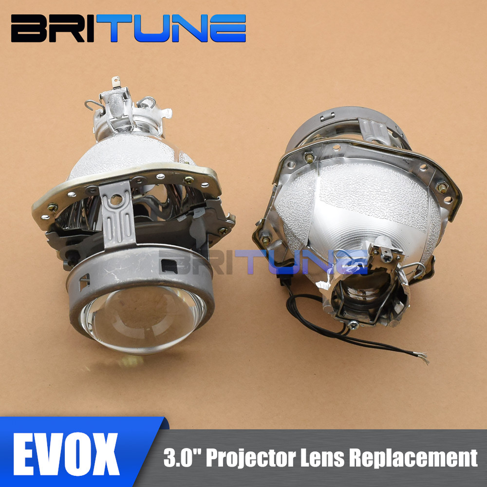 EVOX R G4 D2S HID Bi xenon Projector Lens Headlight Replacement Tuning For Audi A3 A4