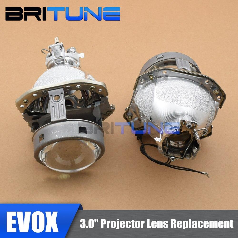 EVOX-R G4 D2S HID bi-xénon projecteur lentille phare de remplacement Tuning pour Audi A3 A4 A6/BMW E39/Mitsubishi Lancer voitures assemblée