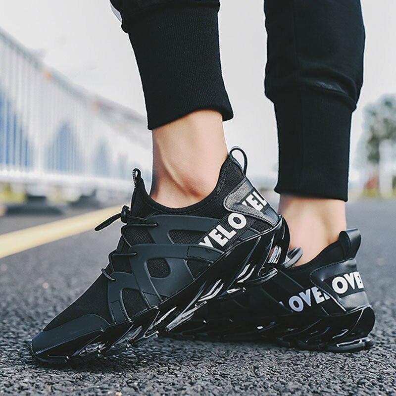 Super fajne oddychające buty do biegania męskie trampki