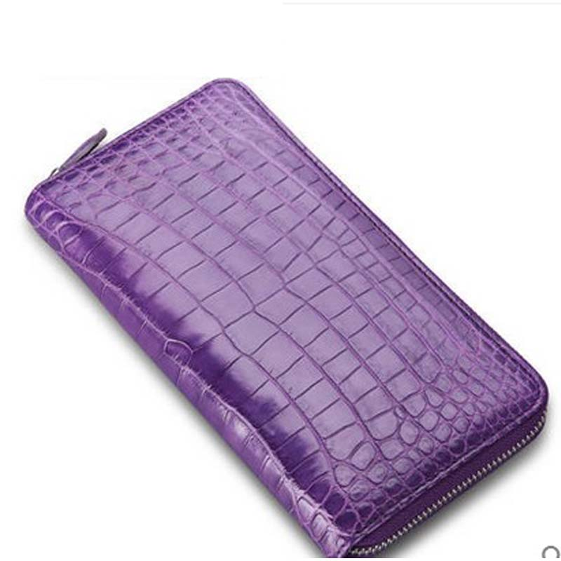 cestbeau  new design imported from Thailand crocodile belly  Lady hand purse women clutch bag ouluoer thailand imported crocodile skins the lady women purse with a purse and a long women wallet