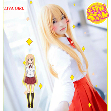Doma Umaru cosplay costumes Japan and South Korea school uni