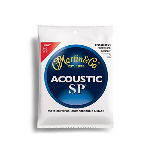 Martin MSP4100 SP 92/8 Phosphor Bronze Acoustic Guitar Strings, Light 3 Pack Set, 12-54 manisha sharma ajit varma and harsha kharkwal interaction of symbiotic fungus with fenugreek